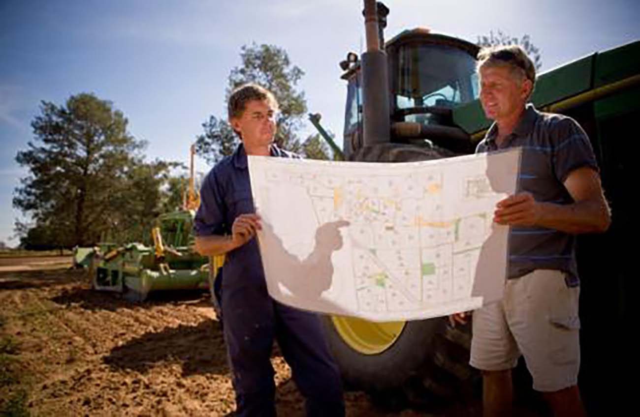 Using a property map, whether hand drawn or from an aerial photograph, will help in planning your integrated weed management program. Source: DEPI Victoria